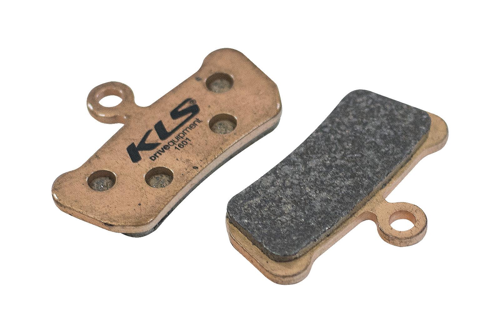 Brzdové destičky KLS D-17S, sintrované (pár)