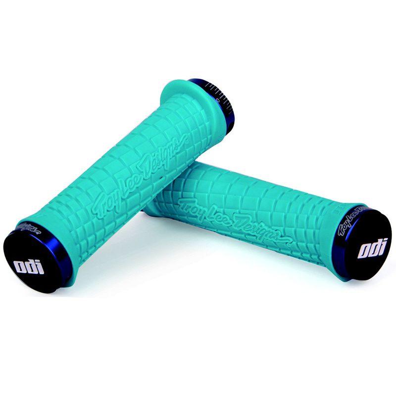Gripy MTB ODI Troy Lee Designs Lock-On bonus pack Aqua