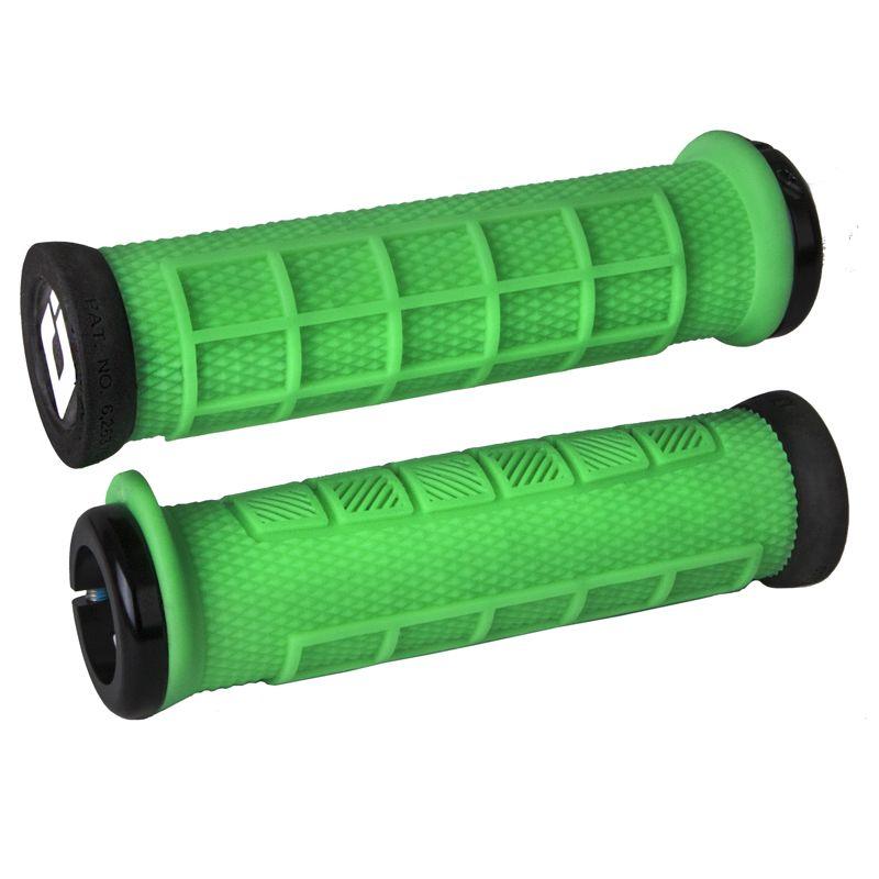 Gripy MTB ODI Elite Pro Lock-On Green