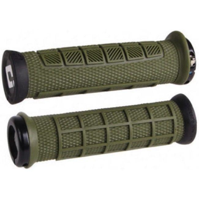 Gripy MTB ODI Elite Pro Lock-On Army Green