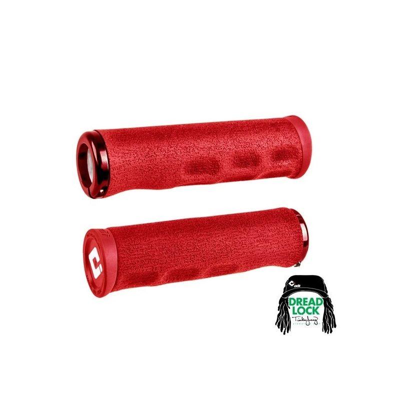 Gripy MTB ODI Tinker Juarez Dread Lock Red