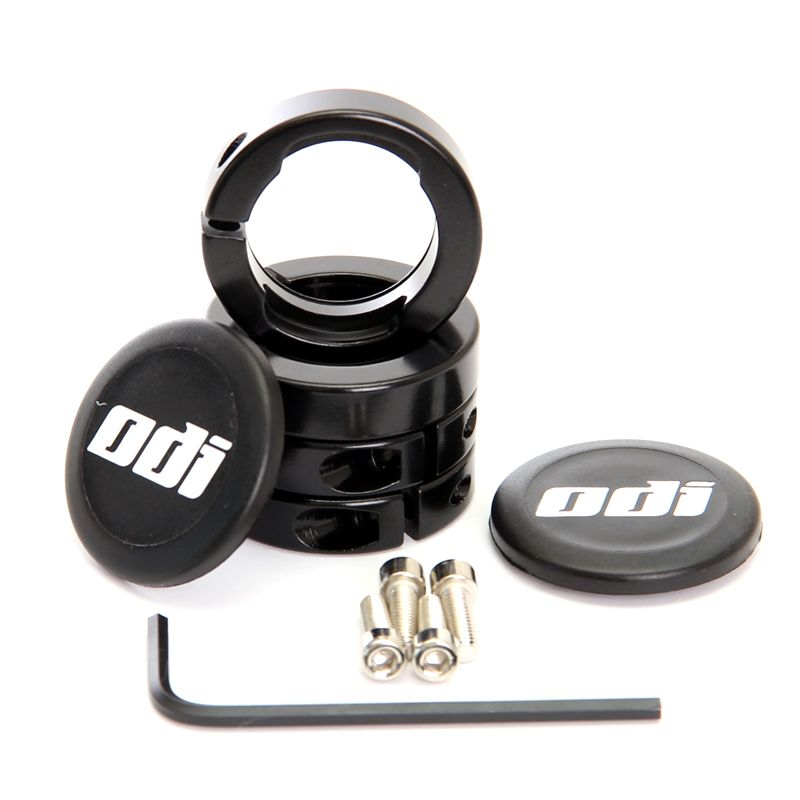 Objímky ke gripům ODI MTB Lock-On Al Black