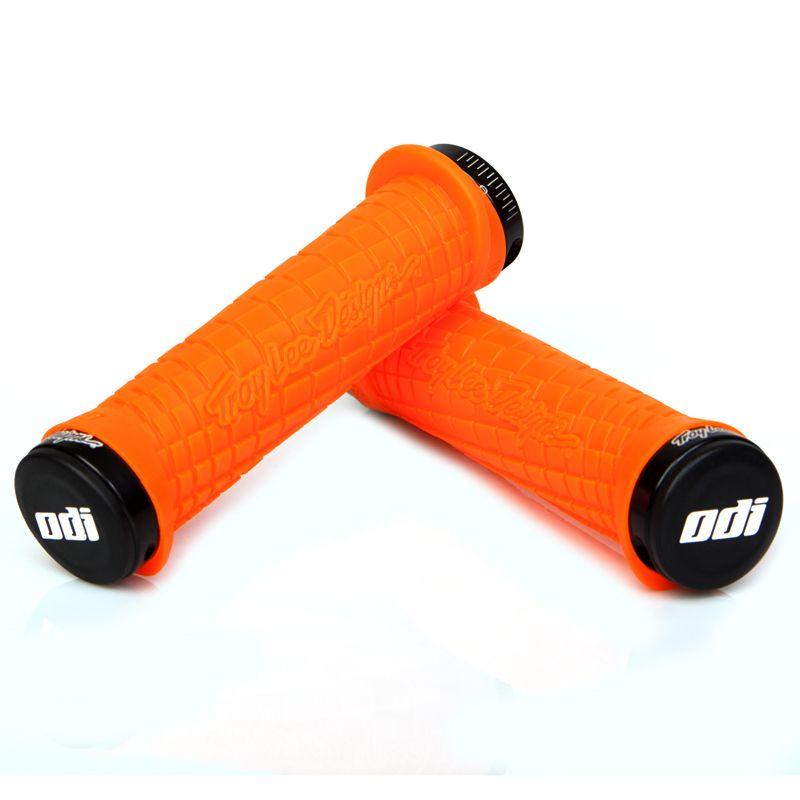 Gripy MTB ODI Troy Lee Designs Lock-On bonus pack Orange