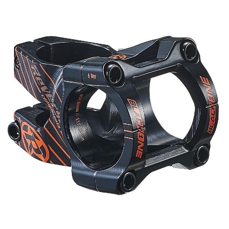 Představec Reverse Black One D-2 35 mm Black / Fox Orange + čepička - šroub