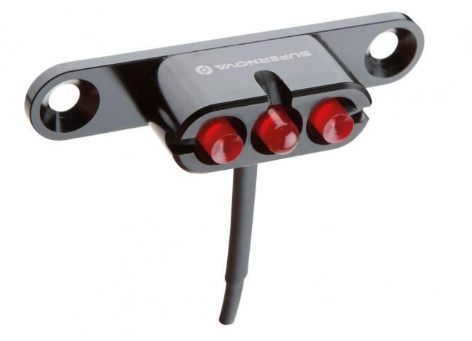 Zadní LED světlo SUPERNOVA na dynamo nebo Aku Bosch