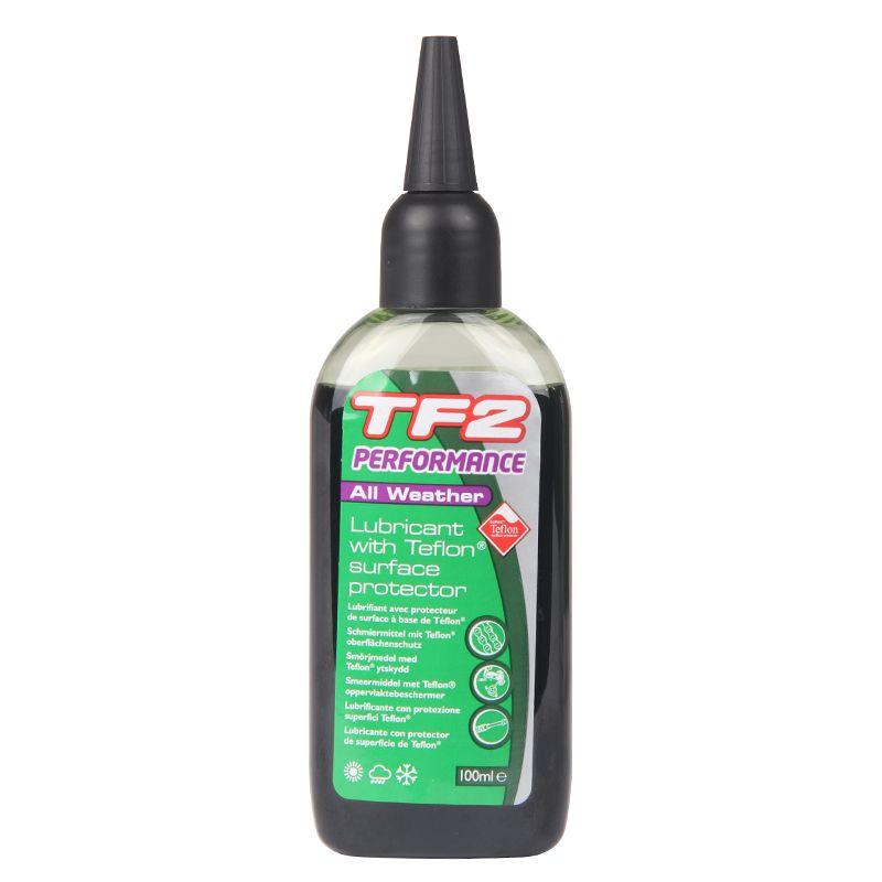 Olej mazací na řetěz TF2 Performance s teflonem univerzální 100 ml poškozený obal