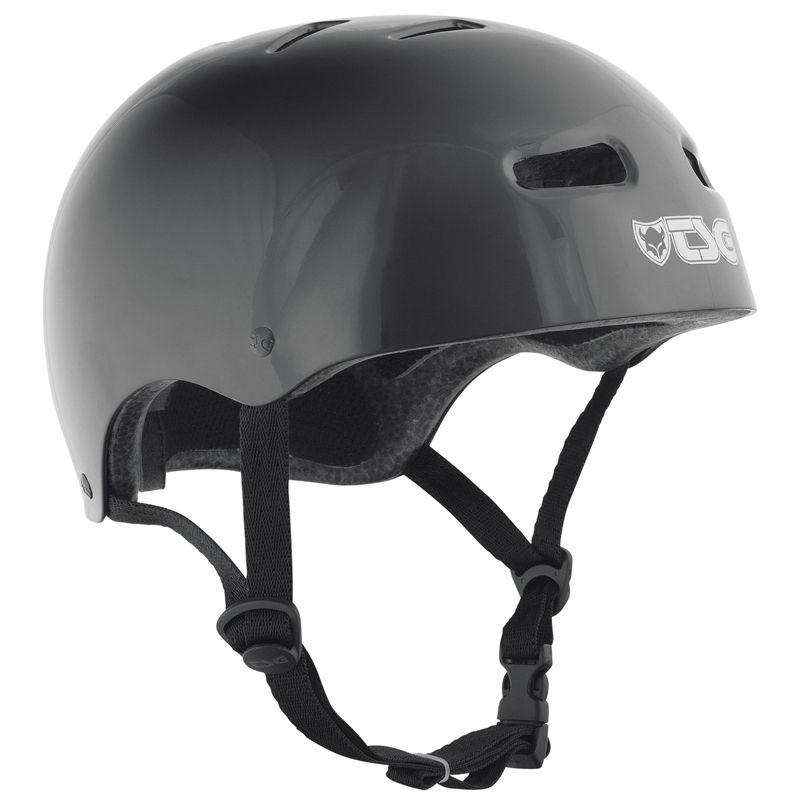 Přilba TSG Skate/BMX Injected Color černá - S / M