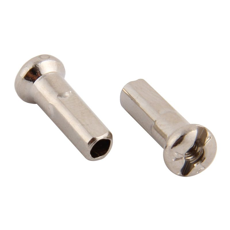 Niple 2,35/14 mm 4-hran 3,6 mm stříbrná